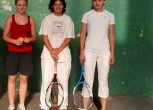 Final del VIIIº campeonato femenino de frontenis de Sakana
