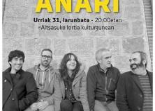 Concierto de Anari a favor de Berria
