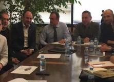 Los representantes de Sakana se han reunido con el Gobierno de Navarra