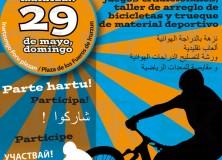 Fiesta de bicis y juegos
