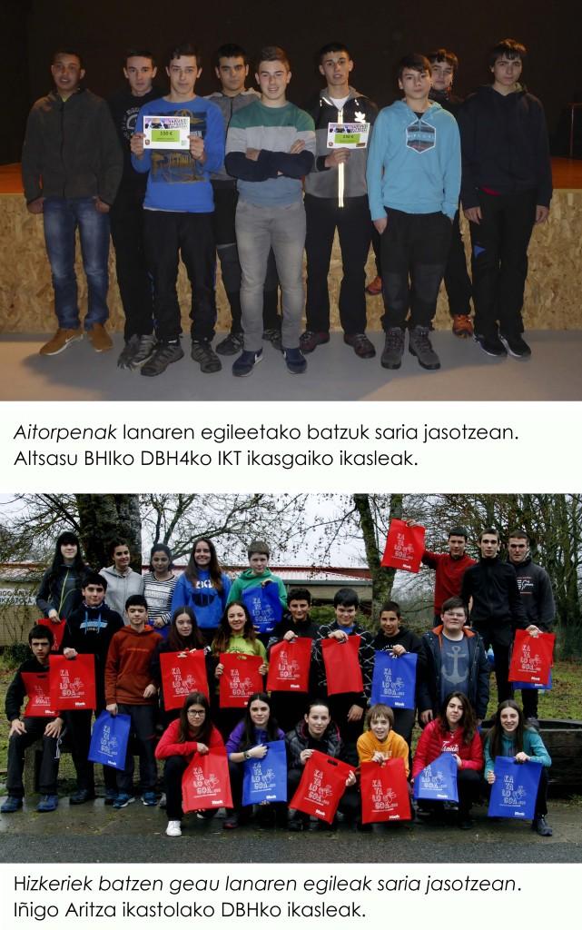 yakusi altsuko euskeria saridunak euskaraz 2017