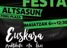 La segunda edición de eLe festa homenajea a los nuevos vasco parlantes