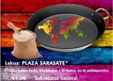1 de octubre de 2017, Arroces del Mundo en Olazagutía
