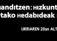 Jornadas Txikiak Handi