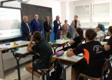 Euskaltzaindia visita Iñigo Aritza Ikastola de Alsasua