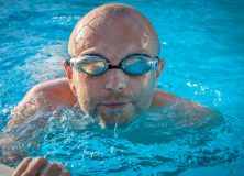 Deporte adaptado. Escuela de natación y gimnasia