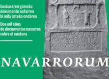 """La exposición """"Navarrorum"""" se puede visitar en Alsasua"""