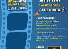 OPAZANK! SAKANAKO HIZKEREN 2. BIDEO-LEHIAKETA