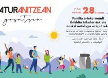 Naturanitzean gozatzen:  28 de marzo desde el Guardetxe para conocer dólmenes y mitologia