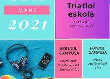 Actividades deportivas de verano – 2021