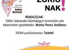 #BerriaZabalik  zozketaren  bideoa