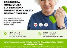 Taller de ejercicio físico en la prevención del declive funcional y caídas en el anciano frágil
