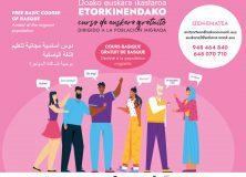 Curso básico de euskera gratuito para población migrada