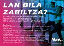 Bolsa de trabajo de monitores, entrenadores y presentadores vascos de la Mancomunidad de Sakana